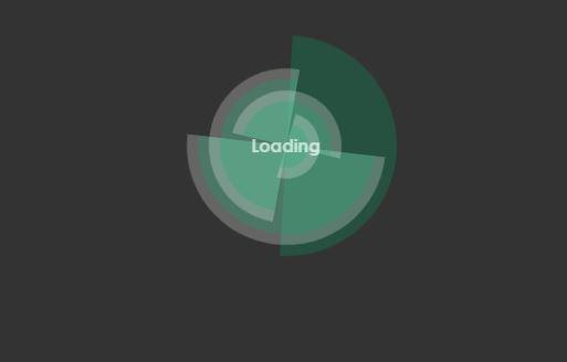 Futuristic CSS Loading Animation - AMPalmier